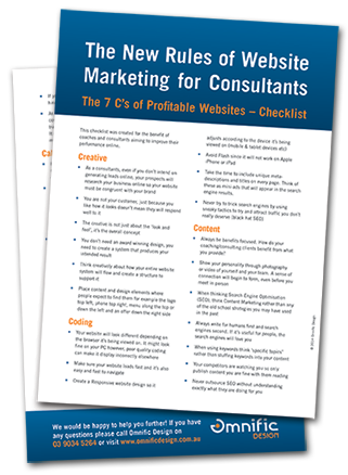 The New Rules of Website Marketing for Consultants